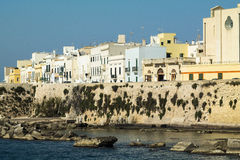 Town of Gallipoli in Salento Royalty Free Stock Photo