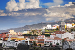Town Garachico, Canary Island Tenerife, Spain Stock Images
