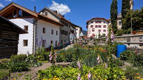 Urban Garden in Savognin Switzerland