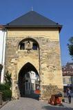 City gate the Berkelpoort, Valkenburg aan de Geul Stock Images