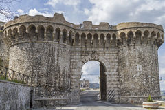 Town gate in Narni Stock Photos