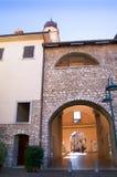 Town Gate at Riva del Garda on Lake Garda Italy Stock Photo