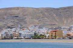 Town Gran Tarajal, Fuerteventura, Spain Royalty Free Stock Photography