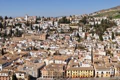 Town Granada,Spain Stock Image