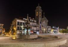 Town Guimaraes - Portugal. Architecture background stock photo