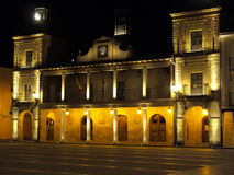 Town hall. Spanish town hall in Burgo de Osma - Soria (Spain Royalty Free Stock Photo