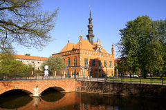 Town Hall. Renaissance building of the former Town Hall in Gdansk, Poland Stock Image