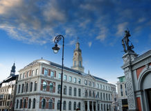 Town Hall. Royalty Free Stock Photos