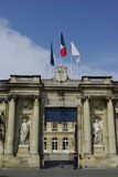 Town hall. French town hall in Bordeaux Stock Photos