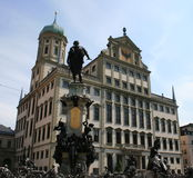 Town Hall. The Town Hall of Augsburg was built by architect Elias Holl Stock Photos