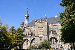 Town Hall - Aachen, Germany Stock Photography