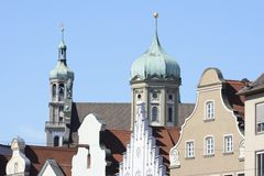 Town hall of Augsburg Stock Photo