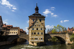 Town Hall in Bamberg,  Germany. Stock Photography