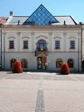 Town hall in Banska Bystrica, Slovakia royalty free stock photography