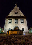 The Town Hall in Bardejov. Photo was taken in Bardejov city centre,Slovakia. The town is one of UNESCO's World Heritage Sites royalty free stock images