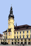 Town hall of Bautzen in Germany Royalty Free Stock Photo