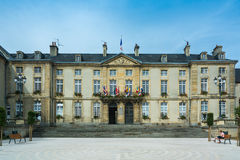Town hall of Bayeux Stock Image