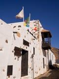 Town Hall in Bentacuria, Fuerteventura Royalty Free Stock Photo