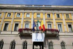 Town Hall in Bergamo Royalty Free Stock Photos