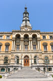 Town hall in Bilbao city Stock Images