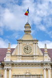 Landmark attraction in Brasov, Romania. Town Hall Stock Image