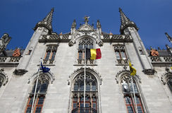 Town Hall Bruges Royalty Free Stock Photos