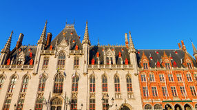 Town Hall, Bruges Stock Images