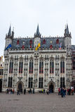 town hall in Bruges Stock Photos