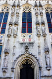 Town Hall Brugges Belgium Royalty Free Stock Photography
