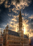 Town hall of Brussels, Belgium Stock Image