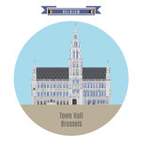 Town Hall, Brussels, Belgium Stock Photography