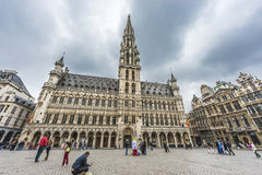 Town Hall in Brussels, Belgium. Stock Photo