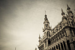 Town Hall of Brussels Stock Image