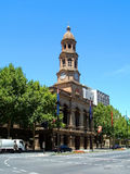 Town Hall Building. Adelaide Town Hall, King William Street designed by the mayor Edmund Wright and Edward Woods. Building commenced in 1863 completed in 1866 Stock Images