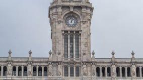 Town Hall building Camara Municipal do Porto stock video footage