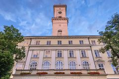 Lviv Town Hall Stock Photos
