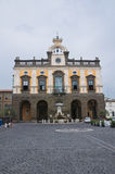 Town Hall Building. Nepi. Lazio. Italy. Royalty Free Stock Photos