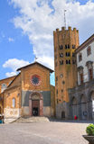Town Hall Building. Orvieto. Umbria. Italy. Royalty Free Stock Images