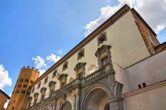 Town Hall Building. Orvieto. Umbria. Italy. Royalty Free Stock Photos