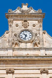 Town hall building. Ostuni. Puglia. Stock Photo