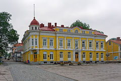 Town Hall building in Tammisaari, Finland. Old Town Hall building in Tammisaari (Ekenas), Finland stock photography