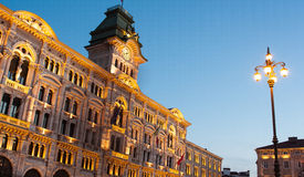 Town hall building, Trieste Stock Photos