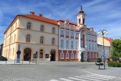 Town hall in Caslav Stock Photos