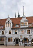 Town hall of Celle, Germany. Old town hall in city Celle in Germany Royalty Free Stock Images