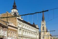 Town Hall at the center of the City of Novi Sad, Vojvodina, Serbia