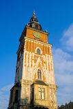Town hall in the center of the old town at day time Royalty Free Stock Photography