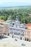 Town hall in Ceske Budejovice Royalty Free Stock Photos