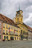 Town hall in Cheb, Czech republic Stock Photo
