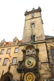 Town hall on an area in Prague Royalty Free Stock Photography