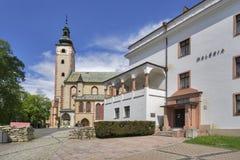 Town hall at Banska Bystrica royalty free stock images